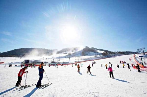 假期不知道去哪裡就選擇韓國滑雪團